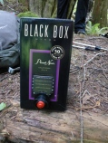 Don't forget the boxed wine when you are hiking