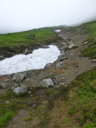 Green Mountain Trail - snow!