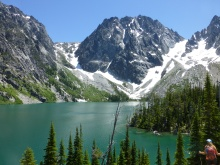 Colchuck Lake Trail