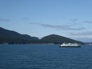 Orcas Ferry Ride